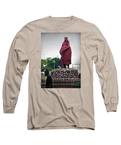 Edo Chief Statue Long Sleeve T-Shirt