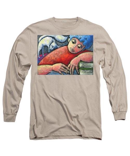 Haciendo Tareas En Mi Cuarto Long Sleeve T-Shirt