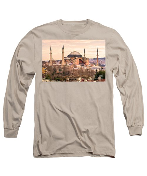 Hagia Sophia Mosque - Istanbul Long Sleeve T-Shirt