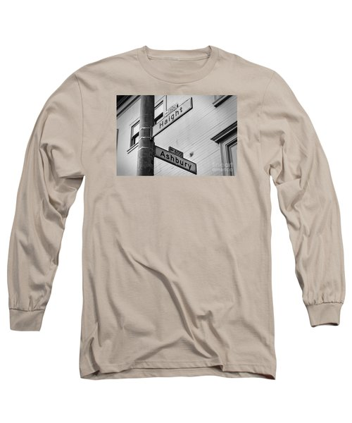 Haight And Ashbury Long Sleeve T-Shirt by Jerry Fornarotto