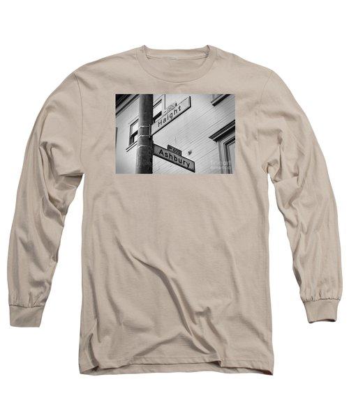 Haight And Ashbury Long Sleeve T-Shirt