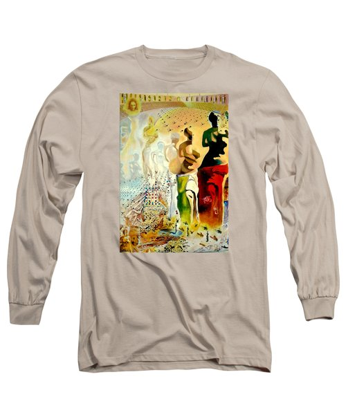 Halucinogenic Toreador By Salvador Dali Long Sleeve T-Shirt