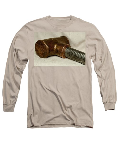 Long Sleeve T-Shirt featuring the photograph Hammer  by Wilma  Birdwell