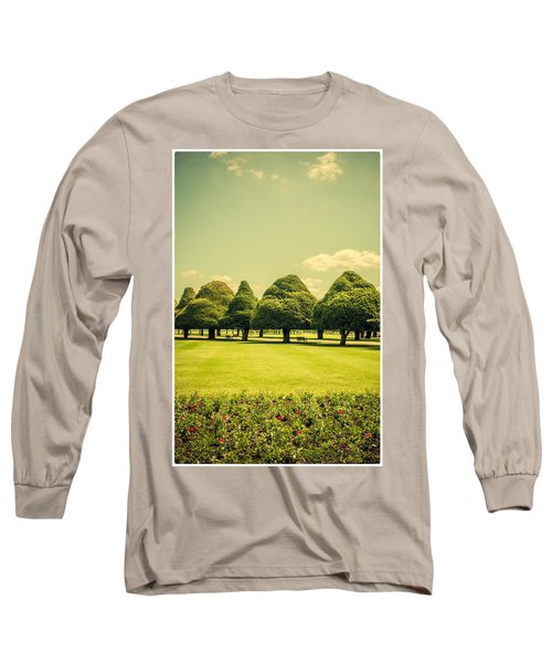 Hampton Court Palace Gardens Summer Colours Long Sleeve T-Shirt