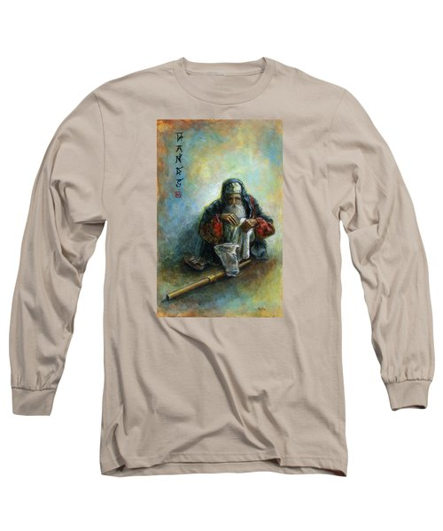 Hands Long Sleeve T-Shirt by Retta Stephenson