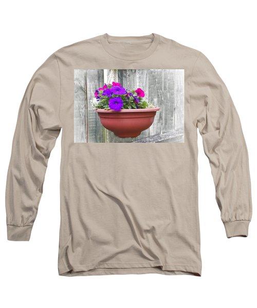 Hanging Flower Pot Long Sleeve T-Shirt