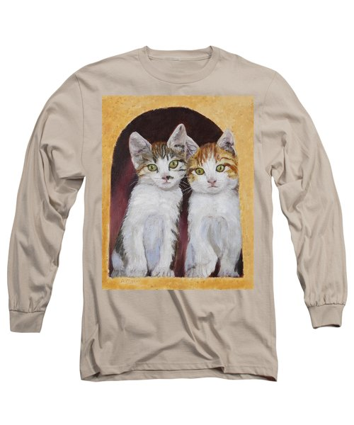 Hanging Out Together Long Sleeve T-Shirt by Alan Mager