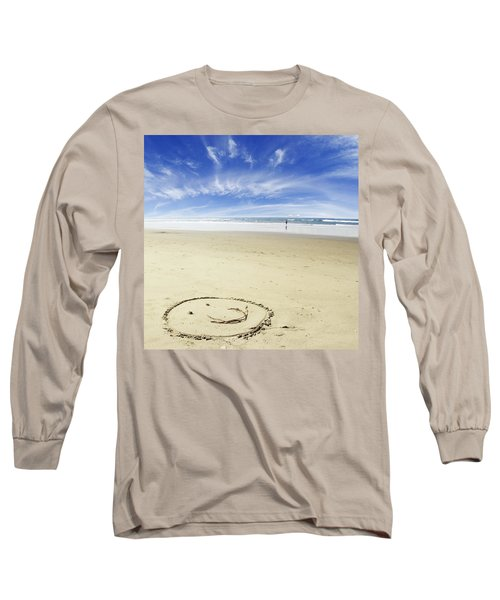 Happiness Long Sleeve T-Shirt by Les Cunliffe