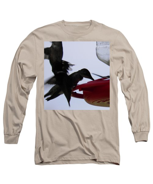 Long Sleeve T-Shirt featuring the photograph Happy Hour by Nick Kirby