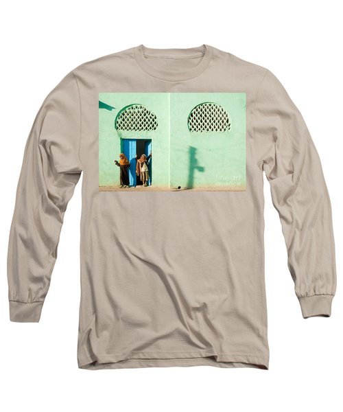 Harar Ethiopia Old Town City Mosque Girls Children Long Sleeve T-Shirt