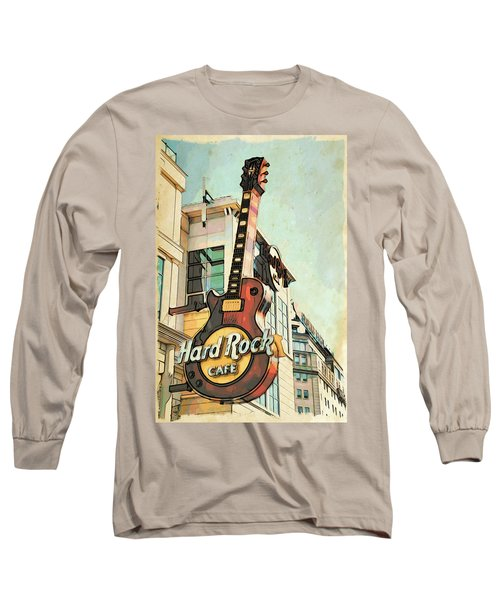 Hard Rock Guitar Long Sleeve T-Shirt