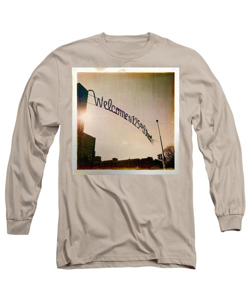 Harlem Long Sleeve T-Shirt by H James Hoff