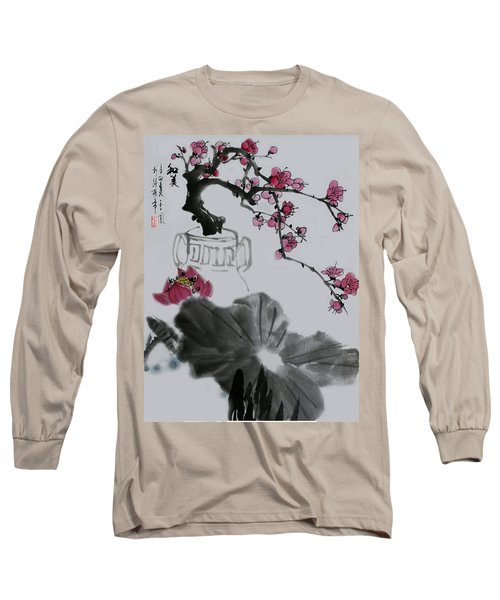 Long Sleeve T-Shirt featuring the photograph Harmony And Beauty by Yufeng Wang