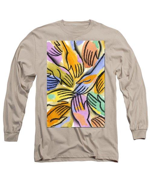 Multi-ethnic Harmony Long Sleeve T-Shirt