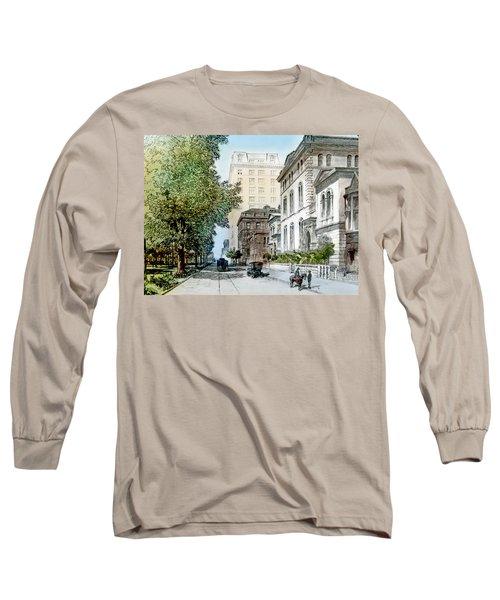 Harrison Residence East Rittenhouse Square Philadelphia C 1890 Long Sleeve T-Shirt