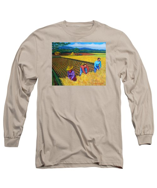 Harvest Season Long Sleeve T-Shirt by Lorna Maza