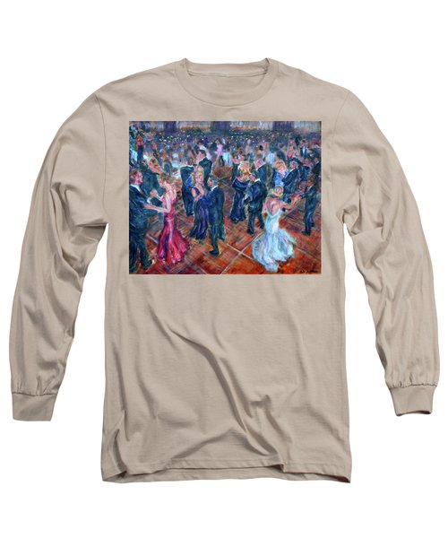 Having A Ball - Dancers Long Sleeve T-Shirt by Quin Sweetman