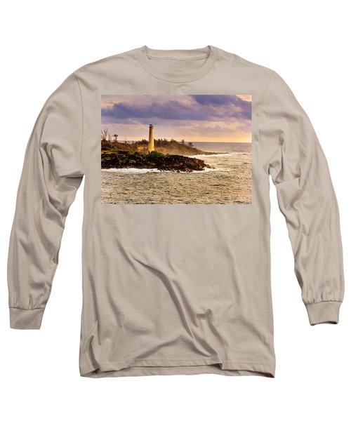 Hawaiian Lighthouse Long Sleeve T-Shirt