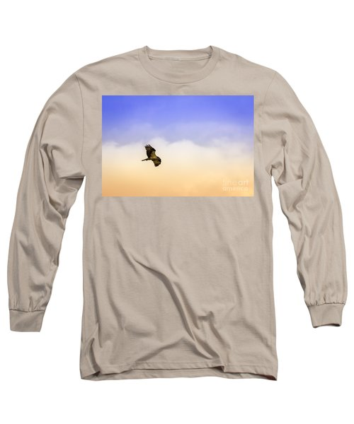 Hawk Over Head Long Sleeve T-Shirt
