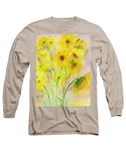 Hazy Summer Long Sleeve T-Shirt