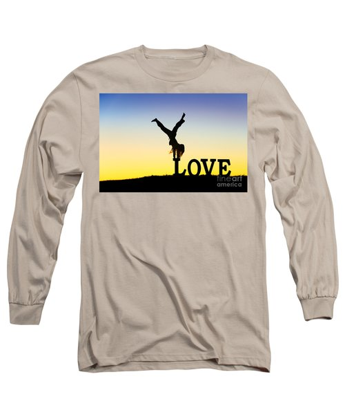 Head Over Heels In Love Long Sleeve T-Shirt