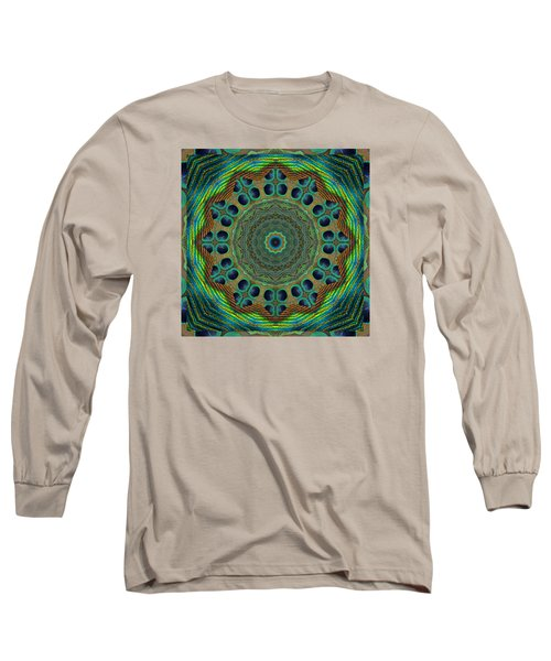 Long Sleeve T-Shirt featuring the photograph Healing Mandala 19 by Bell And Todd