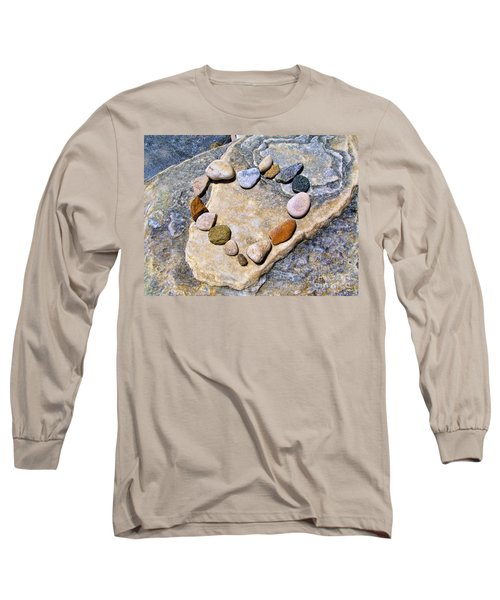 Heart And Stones  Long Sleeve T-Shirt
