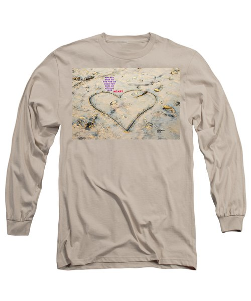 Heart And Words Long Sleeve T-Shirt