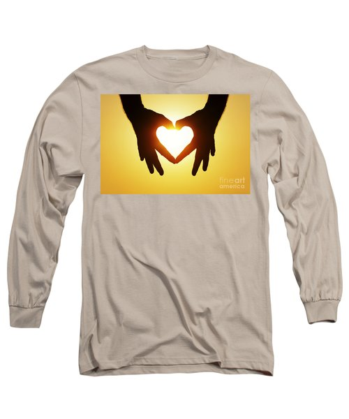 Heart Hands Long Sleeve T-Shirt