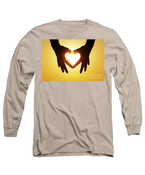 Heart Hands Long Sleeve T-Shirt