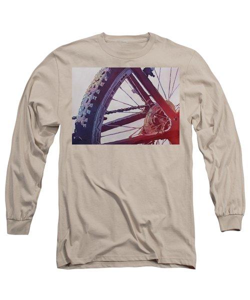 Heart Of The Bike Long Sleeve T-Shirt