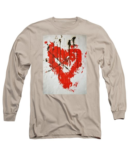 Heart Flash Long Sleeve T-Shirt