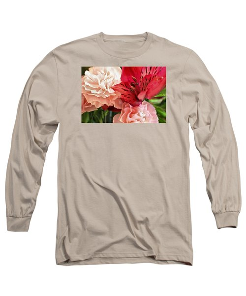 Long Sleeve T-Shirt featuring the photograph Heart's A Flutter by Julie Andel