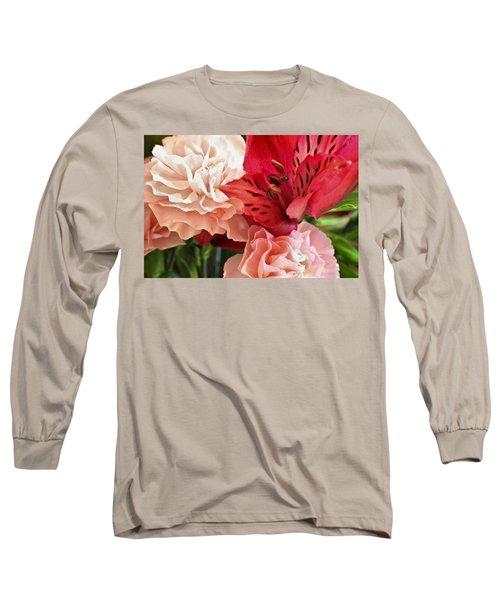 Heart's A Flutter Long Sleeve T-Shirt