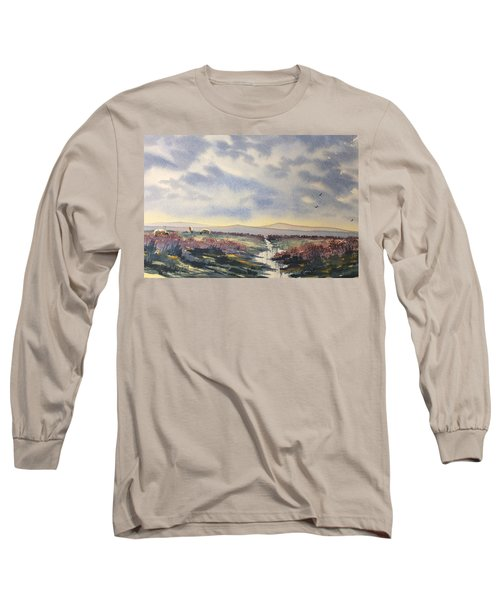Heather On The Road To Fairy Plain  Long Sleeve T-Shirt