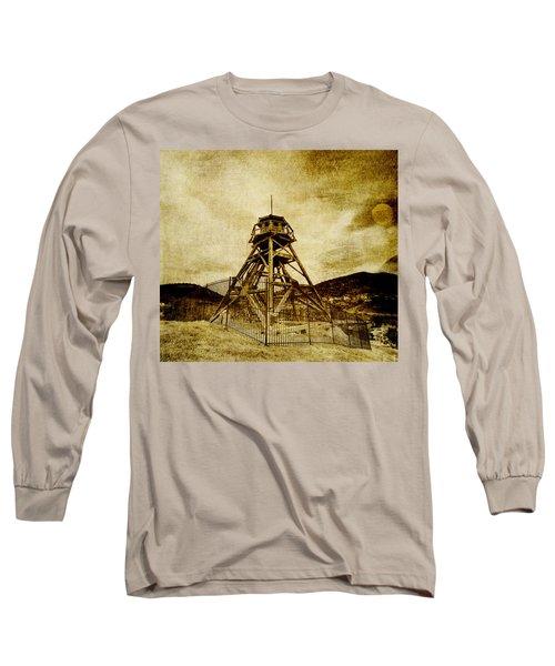 Helena-montana-fire Tower Long Sleeve T-Shirt