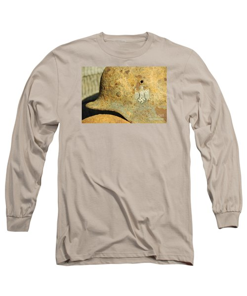 Steel Helmet Long Sleeve T-Shirt