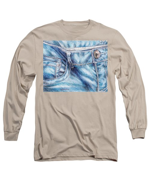 Her Favorite Pair Of Jeans Long Sleeve T-Shirt