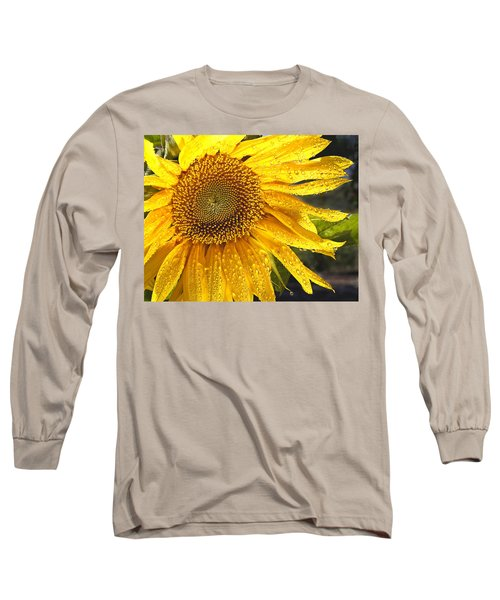 Here Comes The Sun Long Sleeve T-Shirt by Jean Noren