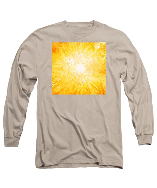 Here Comes The Sun Long Sleeve T-Shirt by Kume Bryant