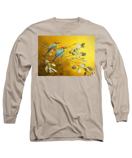 Here Comes The Sun - Rainbow Bee-eaters Long Sleeve T-Shirt