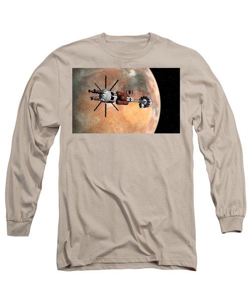 Hermes1 Mars Insertion Part 1 Long Sleeve T-Shirt