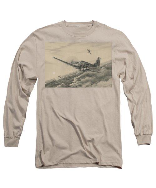High-angle Snapshot Long Sleeve T-Shirt