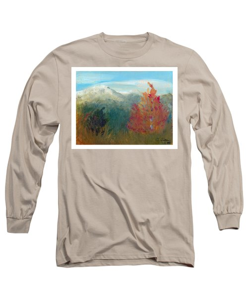 High Country View Long Sleeve T-Shirt by C Sitton