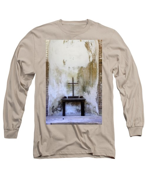 Long Sleeve T-Shirt featuring the photograph Historic Hope by Laurie Perry