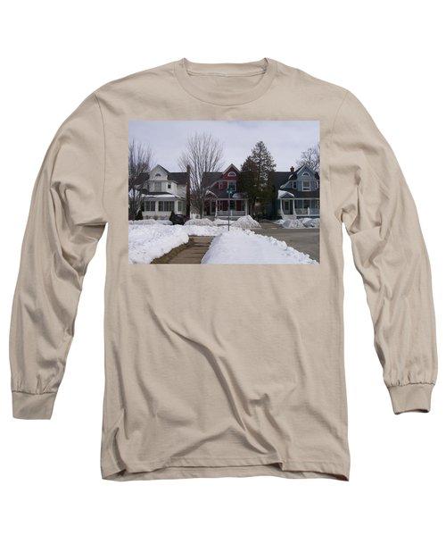 Historic Seventh Street Menominee Long Sleeve T-Shirt
