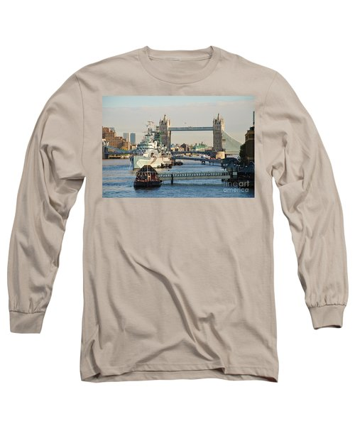 Hms Belfast London Long Sleeve T-Shirt