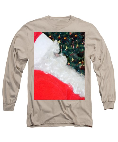 Long Sleeve T-Shirt featuring the photograph Santa Claus by Vizual Studio