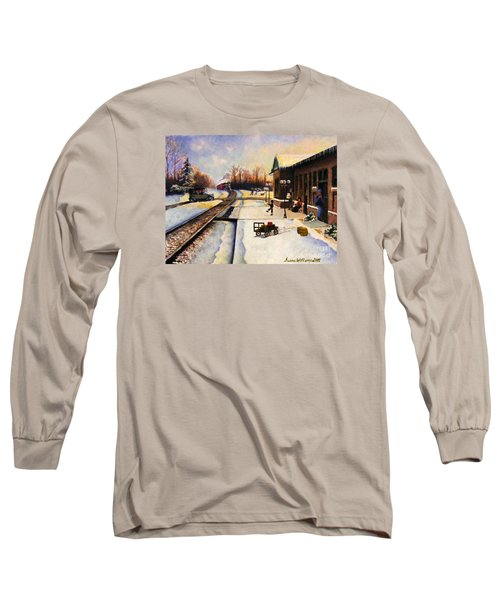 Holiday Depot 1932 Long Sleeve T-Shirt by Susan Williams