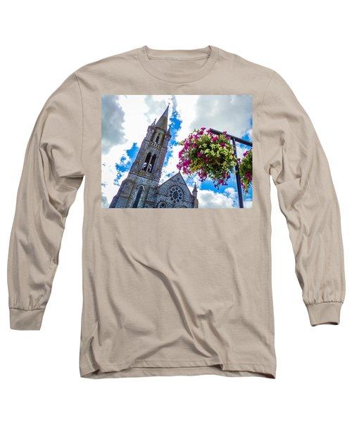 Holy Cross Church Steeple Charleville Ireland Long Sleeve T-Shirt